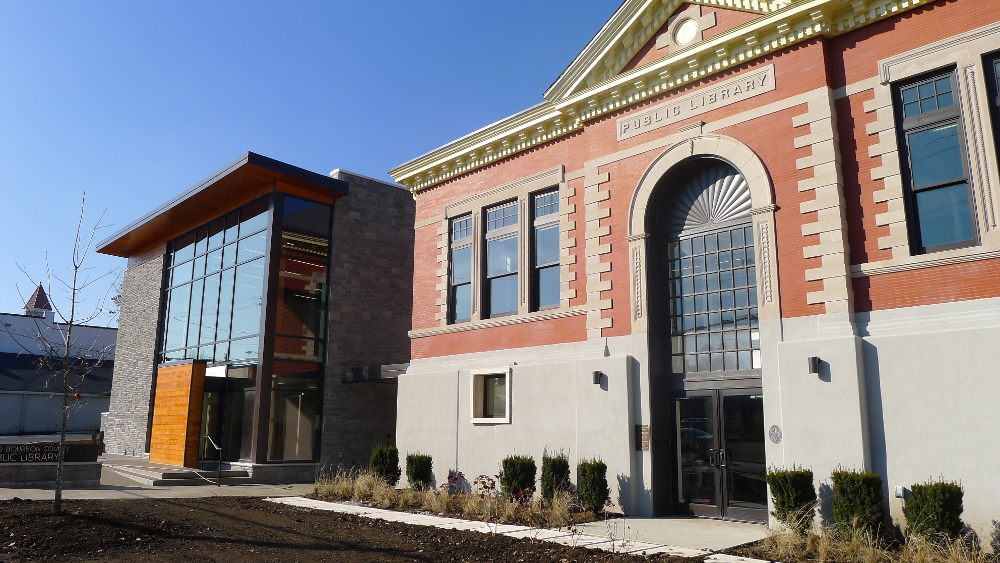 The New Paris-Bourbon County Library